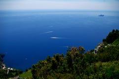 Trekking day in Italy stock image