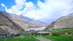 Trekking del Nepal Fotografia Stock Libera da Diritti