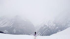 Trekking della montagna del Nepal Fotografia Stock Libera da Diritti