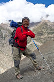 Trekking in Dolpa area, Eastern Nepal Stock Photography