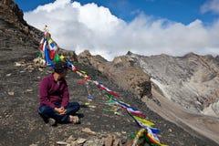 Trekking in Dolpa area, Western Nepal Stock Image