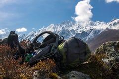 Trekking dream Stock Image