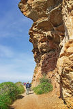 Trekking em Majorca Fotografia de Stock