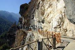 Trekking em montanhas de Cangshan, Dali, província de Yunnan, China Fotografia de Stock