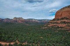Trekking em Sedona, o Arizona, EUA Imagem de Stock