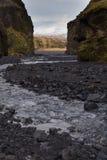Trekking en Islande Image stock