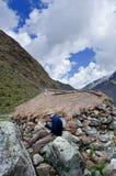 Trekking en montagnes, Pérou, Amérique du Sud Photographie stock