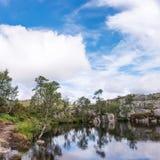 Trekking en Norvège Image libre de droits