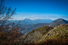 Free Trekking From Pontito To Penna Di Lucchio, Lucca - Tuscany Royalty Free Stock Photos - 165240948