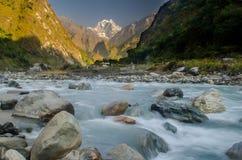 Trekking góry zdjęcie stock