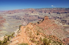Trekking in Grand Canyon Royalty Free Stock Images