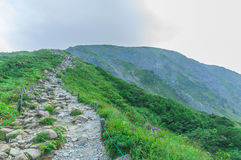 Trekking at Hakuba,Nakano,Japan Royalty Free Stock Photos