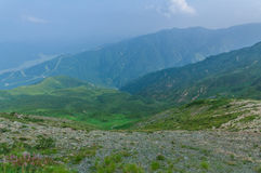 Trekking at Hakuba,Nakano,Japan Stock Photography