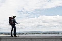 Trekking and hiking Royalty Free Stock Photos