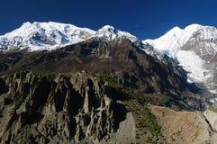 Trekking on the Himalaya Stock Image
