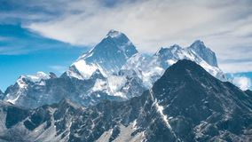 Trekking in Himalaya, Nepal stock video footage
