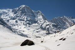Trekking Himalayan Immagine Stock