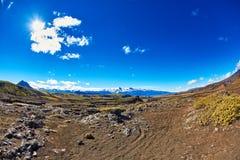 Trekking in Iceland Stock Images