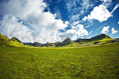 Trekking in Iceland Stock Photography