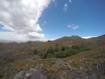 Trekking il Quebrada Yatan da Cumbrecita, rdoba del ³ di CÃ, Argentina immagini stock libere da diritti