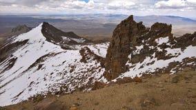 Trekking incamarca - Parque nacional Sajama Obraz Stock
