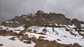 Trekking incamarca - Parque nacional Sajama Zdjęcia Stock