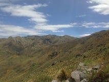 Trekking le montagne a Capilla del Monte, rdoba del ³ di CÃ, Argentina nel lago Los Alazanes Fotografie Stock