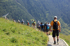 Trekking Stock Photography