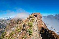 Trekking on Madeira island Royalty Free Stock Photography