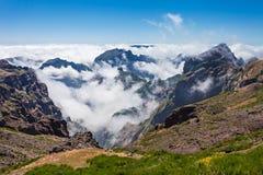 Trekking on Madeira island Royalty Free Stock Photo