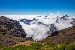 Trekking on Madeira island Stock Images