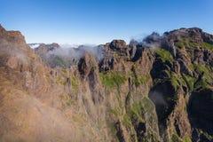 Trekking on Madeira island Royalty Free Stock Images
