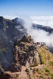 Trekking on Madeira island Royalty Free Stock Photos