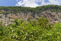 Trekking at Malakoff in Nova Petropolis - Rio Grande do Sul - Br Royalty Free Stock Images