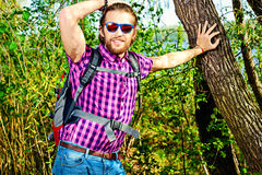 Trekking Royalty Free Stock Images