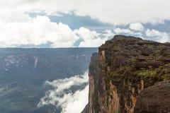 Trekking montering Roraima Fotografering för Bildbyråer