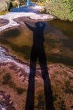 Trekking montering Roraima Arkivfoton