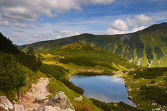 Trekking in the mountains Royalty Free Stock Photography