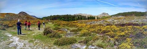 Trekking nel parco di Arouca fotografia stock libera da diritti