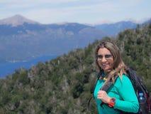 Trekking nel Patagonia Fotografia Stock Libera da Diritti