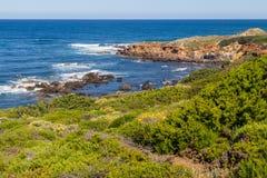 Trekking nella spiaggia di Almograve Immagine Stock Libera da Diritti