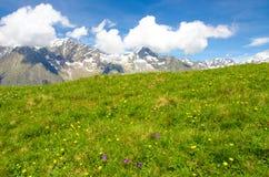 Trekking nelle alpi della Francia Fotografie Stock