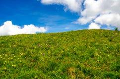 Trekking nelle alpi della Francia Fotografie Stock Libere da Diritti