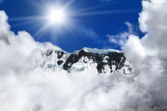 Trekking in Nepal Royalty Free Stock Photos