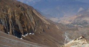Trekking in the Nepal Himalaya Royalty Free Stock Images