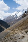 Trekking in Nepal Himalayagebergte Royalty-vrije Stock Fotografie