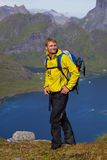 Trekking in Norway Royalty Free Stock Image