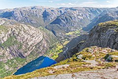 Trekking Norway Royalty Free Stock Photography