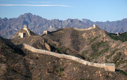 Free Trekking On Great Wall. Royalty Free Stock Images - 5231969