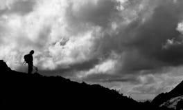 Trekking på Ausangate 2 Royaltyfri Foto